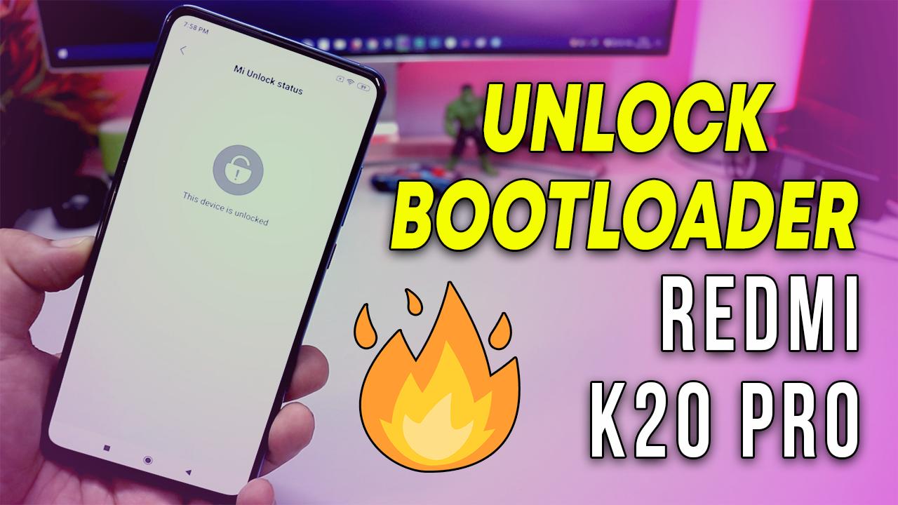 redmi k20 pro unlock bootloader