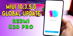 MIUI 10.3.5.0 Update