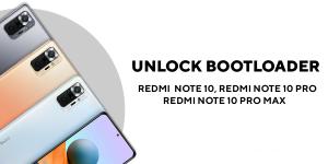 unlock bootloader of Redmi Note 10, Redmi Note 10 Pro, and Redmi Note 10 Pro Max