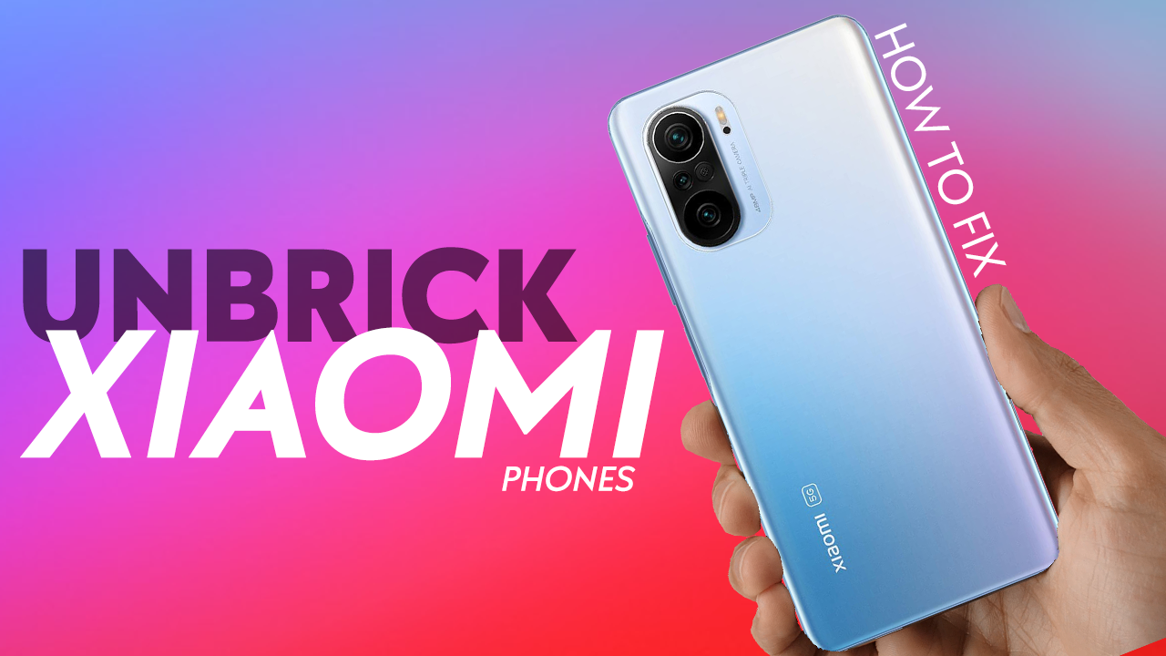 Unbrick Xiaomi phone