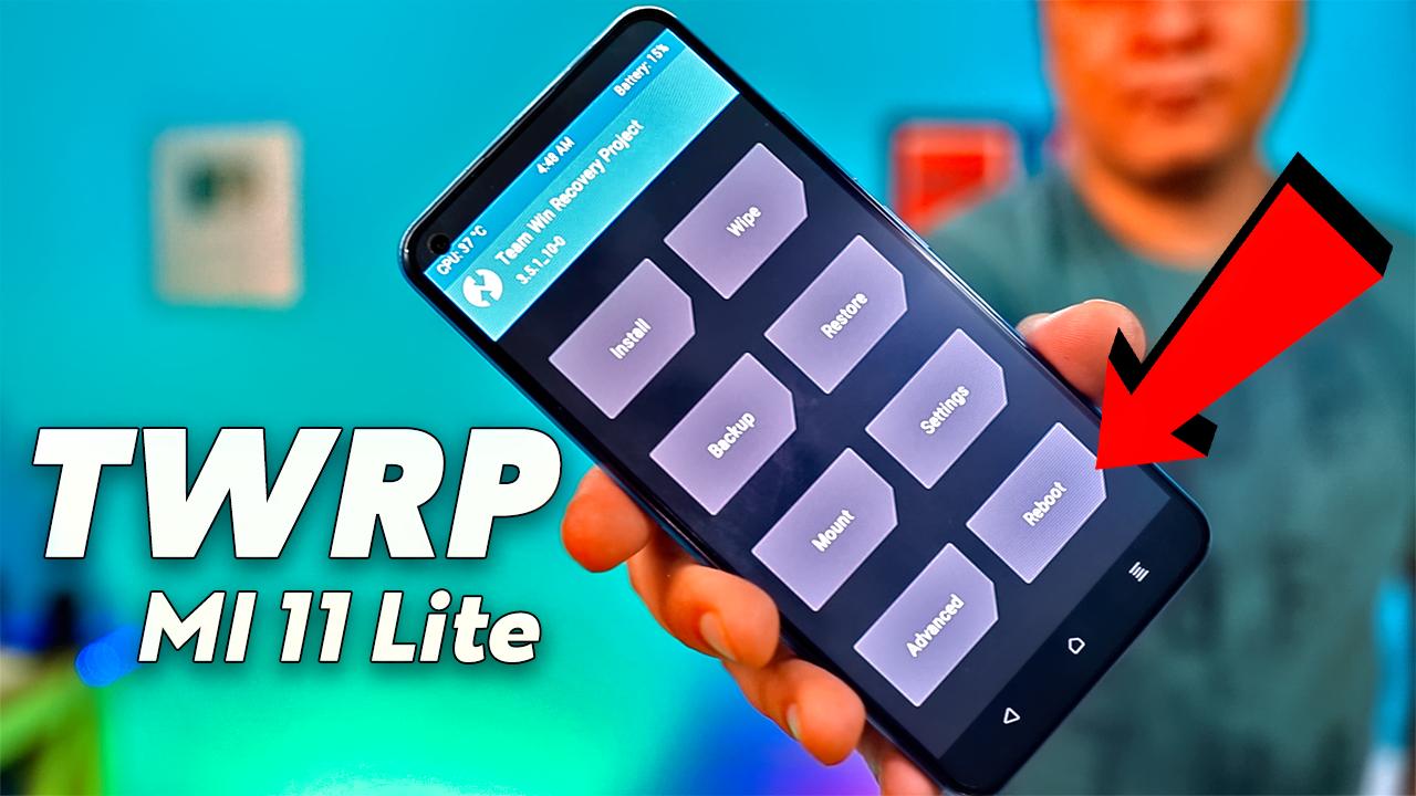 TWRP MI 11 Lite