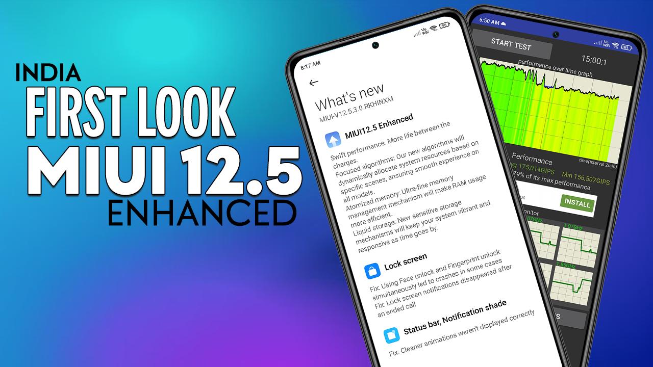 MIUI 12.5 Enhanced Edition for Mi 11X